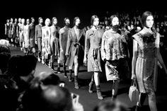 Milan Fall/Winter 2014-2015 journal, day 1, Gucci, Kasia Struss, Suvi Koponen, Joseph Altuzarra, Fausto Puglisi, FW2014, Anja Rubik,  Nadja ...