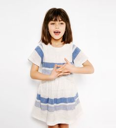 Striped flounce dress-DRESSES AND JUMPSUITS-GIRL | 4-14 years-KIDS | ZARA United States