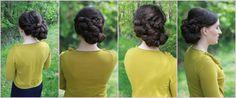 Bridal Hair Low Up-do