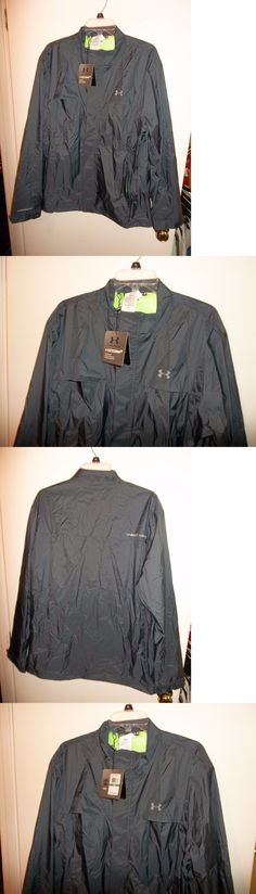 Coats and Jackets 181134: Nwt Mens Large Under Armour Golf Storm3 Rain Suit Jacket Pants New $170 -> BUY IT NOW ONLY: $120 on eBay!