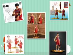 Free Shipping Slam Dunk Big Size PVC Action Figures Dolls Model Boys Toys Doll Kids gift //Price: $US $18.84 & FREE Shipping //     #toyz24