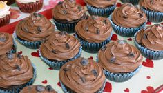 Chocolate Chip Cupcakes.  Vegan.  By Cakeability.
