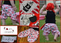 Louie's designs, pirate outfit, pirate party, swashbuckling sweetheart, cute boys outfit :) https://www.facebook.com/LouiesDesigns