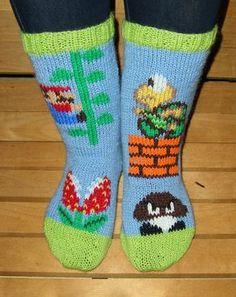 Super Mario socks!
