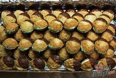 Nuts of Cinderella - Mary - - Nuts of Cinderella - Mary Christmas Baking, Christmas Cookies, Petra, Hungarian Recipes, Cake Pops, Caramel, Sweet Tooth, Bakery, Muffin