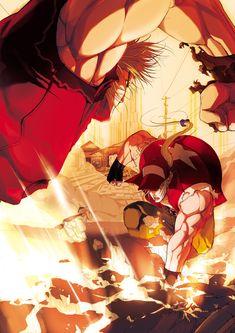 SVC Chaos SNK Vs Capcom poster/japan cover Terry Bogard Vs Ken Masters