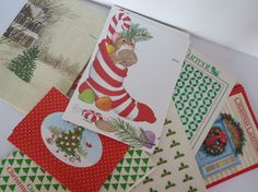 Vintage Current Critters Christmas Cards by ButterflyInTheAttic ...