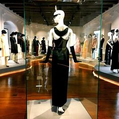 Audrey Hepburn's iconic little black dress from Breakfast at Tiffany's, created for her by Hubert de Givenchy on show at 'An Elegant Friendship' at Morges from 20 May. Breakfast At Tiffanys, Audrey Hepburn, Switzerland, Friendship, Costumes, Elegant, Instagram Posts, Black, Dresses