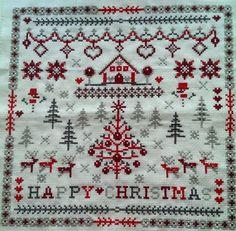 Beautiful christmas cross stitch
