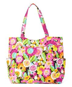 1f050df3c6 Va Va Bloom Pleated Tote by Vera Bradley  zulilyfinds