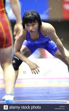 nd Yoyogi Gymnasium, Tokyo, Japan. 29th May, 2016. Yui Susaki, MAY Stock Photo, Royalty Free Image: 104814033 - Alamy #YuiSusaki #須崎優衣 #女子 #レスリング