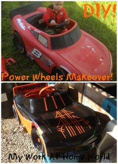 Custom Power Wheel Painting! {How-To}