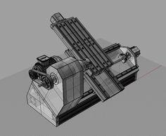 cnc lathe ( design / parts ) no build ...yet .