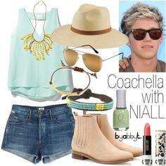 """""""Coachella with Niall"""" by abbytamase on Polyvore"""