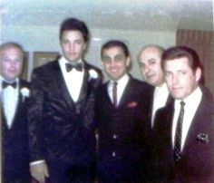 Elvis and the boys