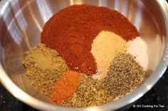 101 Cooking For Two - Everyday Recipes for Two: Homemade Taco Seasoning