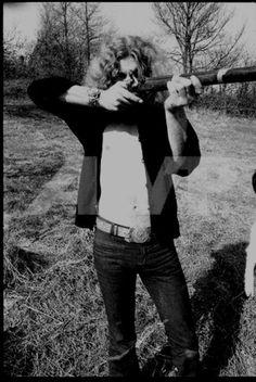 "Led Zeppelin ""Robert Plant's big guns always ""hit the mark!"" Upload by: Gracie Lynn"
