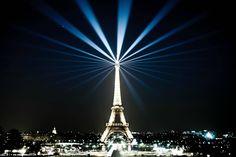 Paris, the city of lights.