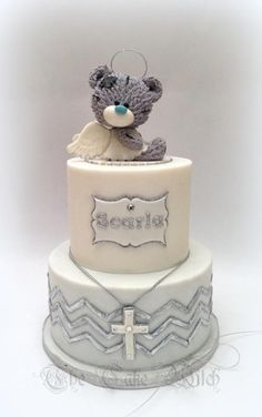Angel Teddy Bear by Nessie - The Cake Witch