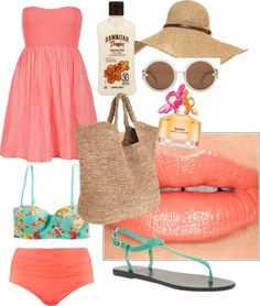 """""""Day at Bondi"""" by charlie-is on Polyvore"""
