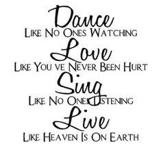 sing love dance live | Mark Twain