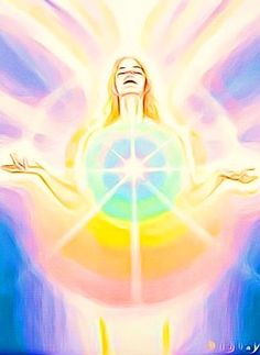 The Chakra Unification meditation harmonizes all of the chakras from the Soulstar above the head to the Earthstar below the feet. Plexus Solaire, Les Chakras, Ascended Masters, Let Your Light Shine, Visionary Art, Sacred Art, Spiritual Awakening, Love And Light, White Light