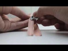 como colocar ziper invisível