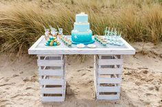 Beach Wedding sweet Table  - Im Hochzeitsfieber  Christina  Eduard Photography