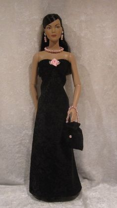TYLER WENTWORTH Brenda Starr Sydney Doll Clothes #07 Dress, Purse & Jewelry Set #HandmadebyESCHdesigns