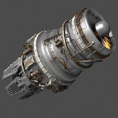 Sci Fi Jet Engine - http://www.browsetheramp.com/