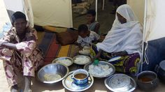 03/2012: Refugees in Niger from new rebellion in northern Mali.
