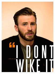 """I don't wike it""- Chris"