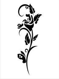 Znalezione obrazy dla zapytania kwiaty szablony na sciane