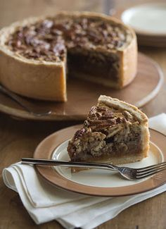 """Deep-Dish Pecan Pie: Made for Thanksgiving 2013 and was a huge success! Seriously, future mother-in-law said """"Best pecan pie"""" she has ever eaten! Pie Recipes, Sweet Recipes, Dessert Recipes, Cooking Recipes, Pecan Recipes, Just Desserts, Delicious Desserts, Yummy Food, Gourmet"""