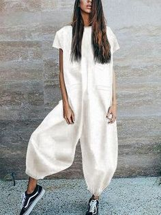 Jumpsuit With Sleeves, Short Jumpsuit, Casual Jumpsuit, Striped Jumpsuit, Black Jumpsuit, Rompers Women, Jumpsuits For Women, Fashion Jumpsuits, Mode Inspiration