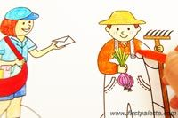 Step 2 Community Helper Paper Dolls craft