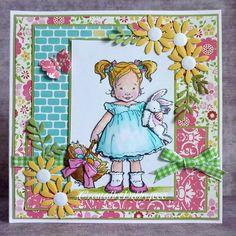 A Scrapjourney: Easter Girl