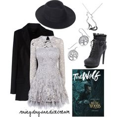 The Wolf by rainydaysandicecream on Polyvore