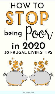 How to Live Frugally: 50 Frugal Living Tips! What to learn how to live frugally and save money? Read on and learn 50 practical frugal living tips that'll help you transform your life! These practical tips for frugal living will help you save thousands in Money Saving Challenge, Money Saving Tips, Money Tips, Money Budget, Savings Challenge, Money Hacks, Managing Money, Frugal Living Tips, Frugal Tips