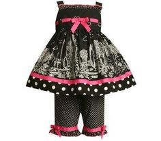Bonnie Baby City Print Woven Capri Set  Black/White  12 MonthsFrom #Bonnie Baby List Price: $36.00Price: $27.95 Availability: Usually ships in 1-2 business daysShips From #and sold by Kids Apparel and BeyondAverage customer review:   2 customer reviews
