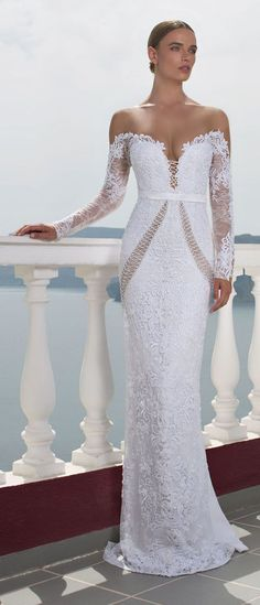 We're taking you on a journey to Greece with Julie Vino 2016 Santorini Bridal Collection filled with wedding dresses perfect for the fashion-forward bride.