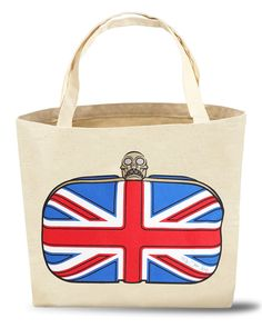 Elizabeth Union Jack Tote Bag from The Shopping Bag