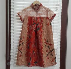 Dress Batik Blazer, Blouse Batik, Batik Dress, Dress Brukat, Batik Kebaya, Dress Anak, Batik Fashion, Baby Dress Patterns, African Dress