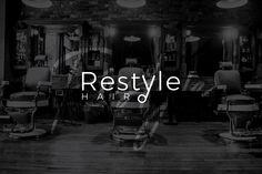"""Vedi il mio progetto @Behance: """"Brand identity - Restyle Hair"""" https://www.behance.net/gallery/58507017/Brand-identity-Restyle-Hair"""