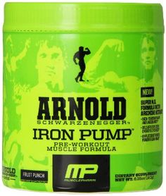 Muscle Pharm Arnold Schwarzenegger Series Iron Pump Review - http://www.workoutboosters.com/muscle-pharm-arnold-schwarzenegger-series-iron-pump-review/