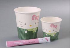 Cups used in Hello Kitty Jet. Kawaii!