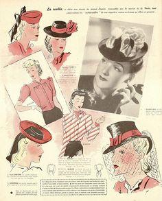 Le petit echo de la mode (1940) la resille by pilllpat (agence eureka), via Flickr