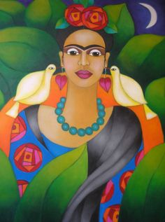 Frida, por Carmen Garrez
