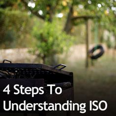 4 steps to understanding ISO