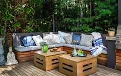 Bridgid Coulter and Don Cheadle's outdoor living space | Lonny